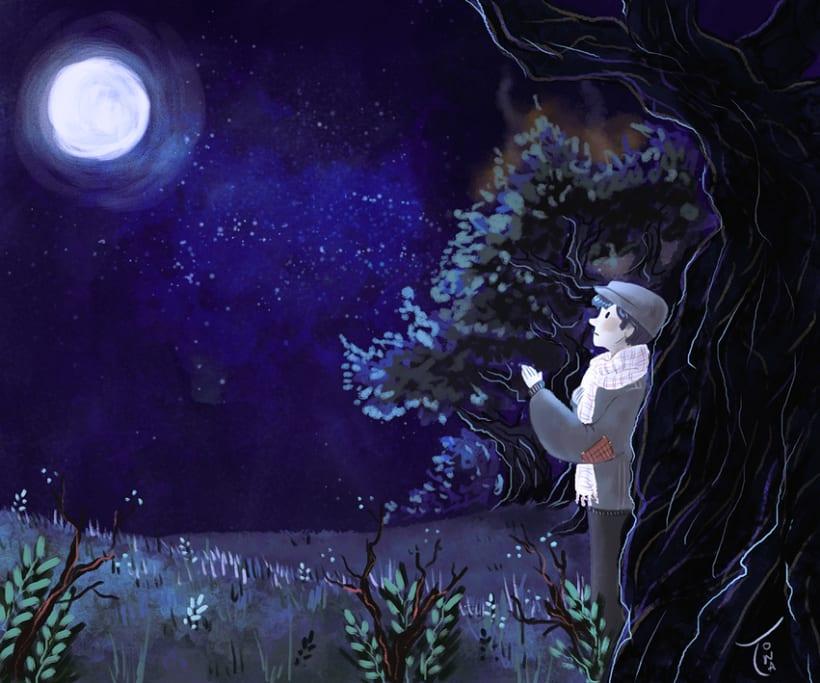 Ilustración de poemas 2