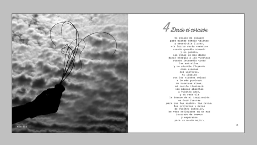 """""""QUINCE"""" Libro de Poemas 3"""