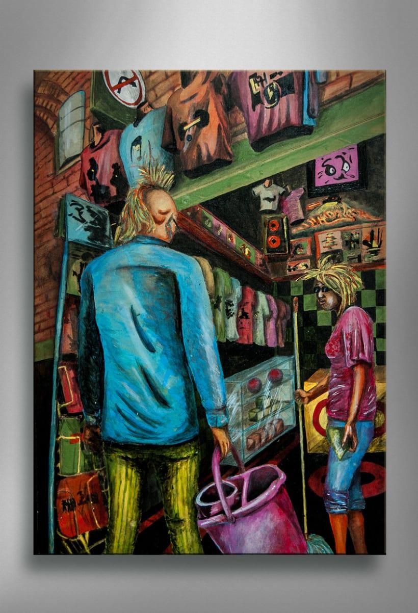 """Collección """"Camden Town's streets"""" 6"""