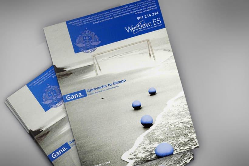 Diseño de portadas. Westlaw Aranzadi 0