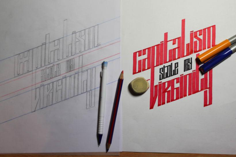 lettering capitalism 0