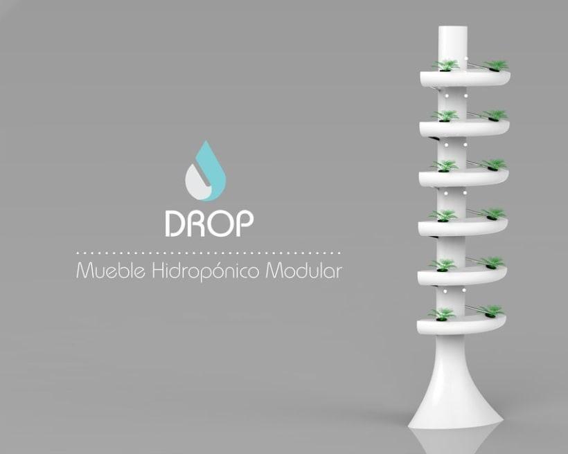 Drop, Hidroponía Urbana -1