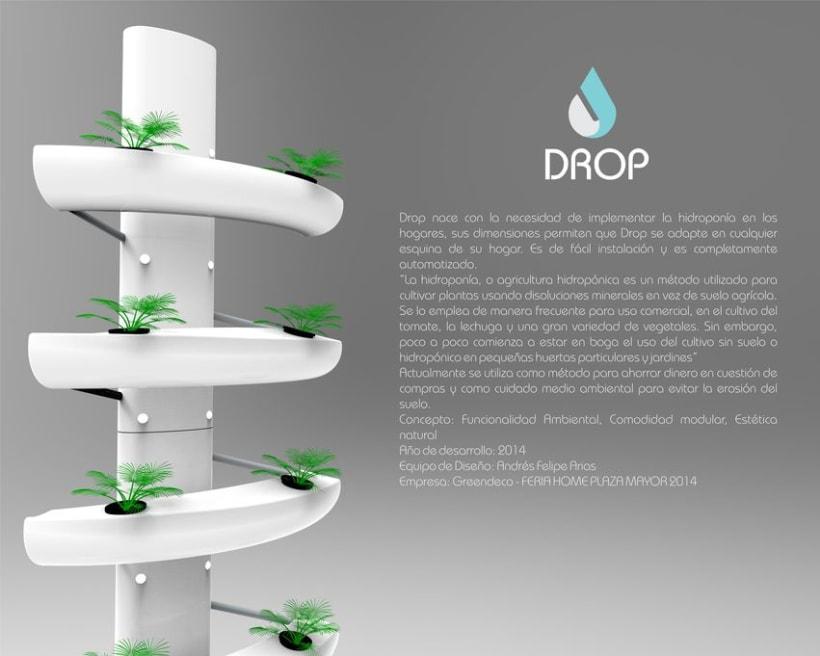 Drop, Hidroponía Urbana 0