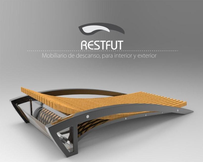 Restfut, Mobiliario para descanso -1