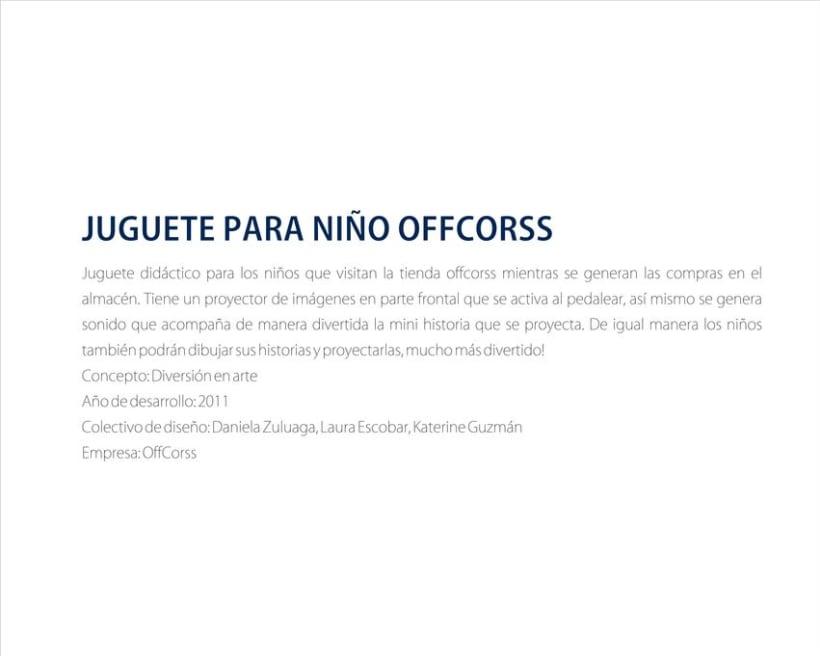 Juguete OFFCORSS 1
