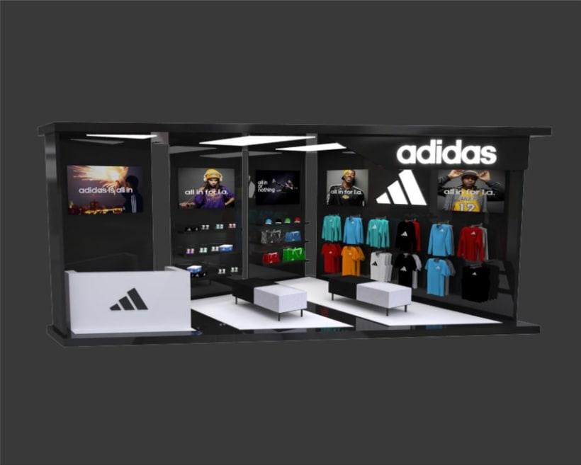 Stand Adidas 2
