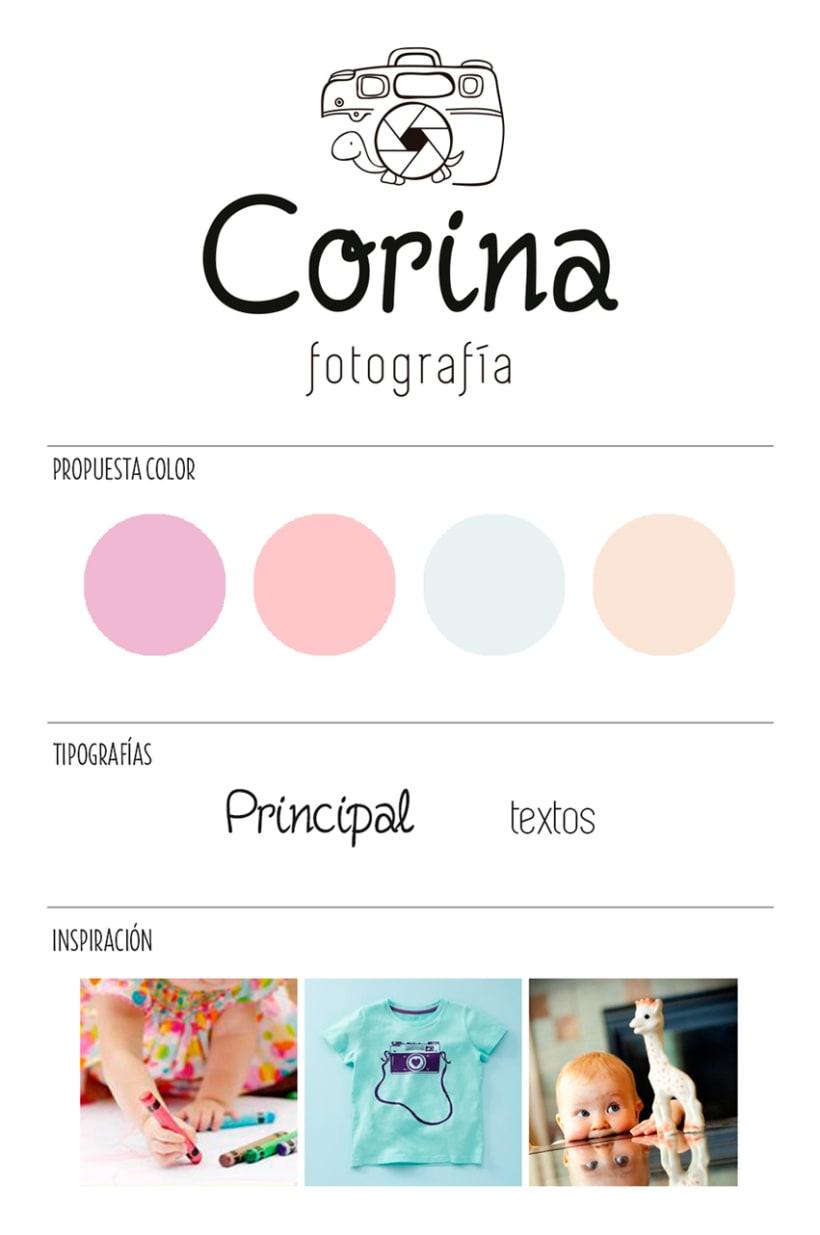 Identidad Corina Fotografía 0