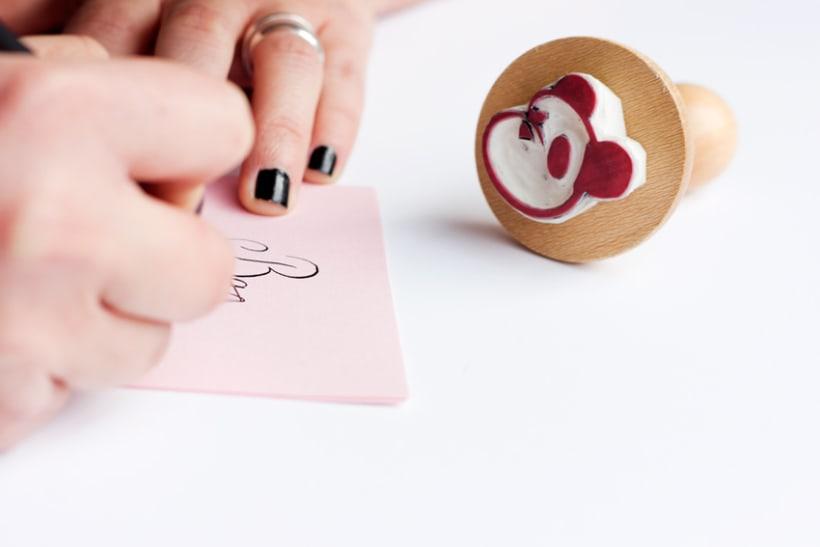 Bambú Handmade Stamp 1
