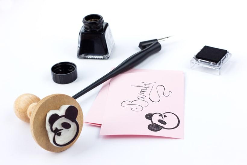 Bambú Handmade Stamp 3