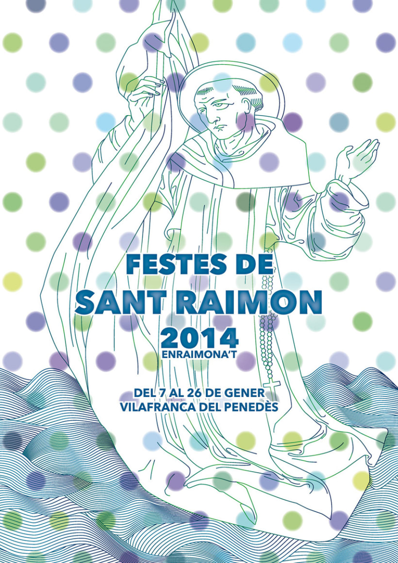 CARTELES FIESTAS DE ST. RAIMON 1