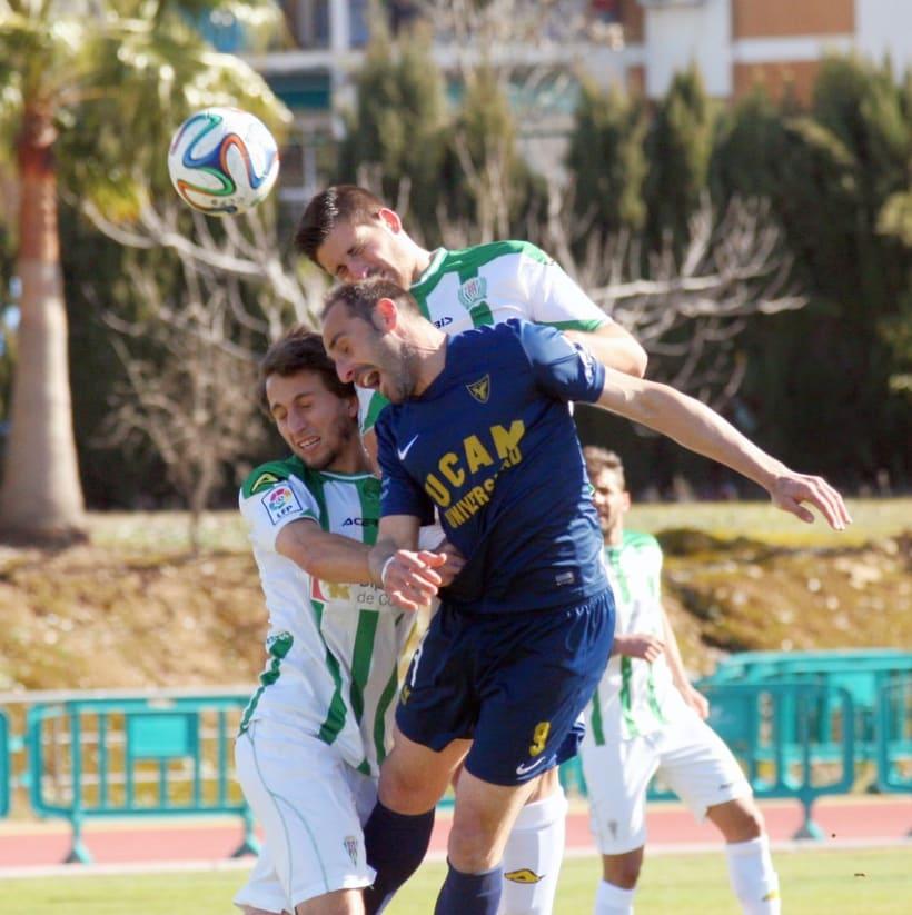 Fotografía deportiva | Cordoba B - UCAM CF / Almería B - UCAM CF -1