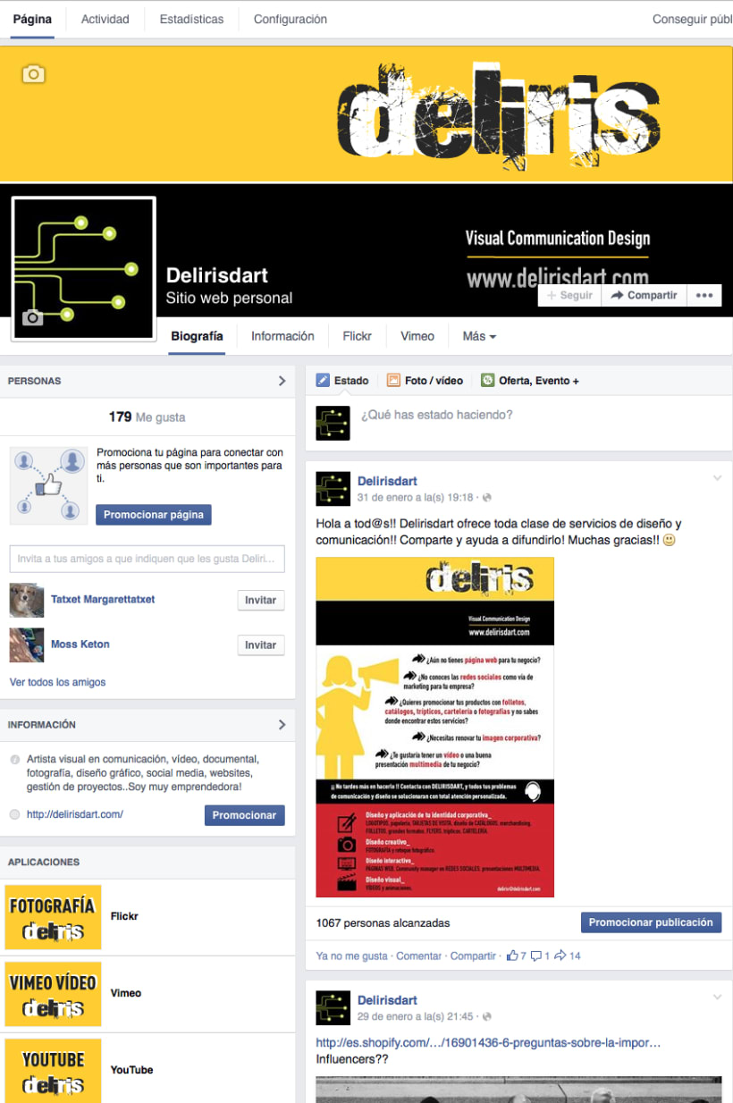CREACIÓN Y DISEÑO WEB 2