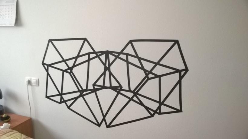 Mural geométrico -1