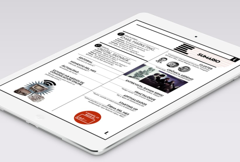 Interactiva tablet magazine 2