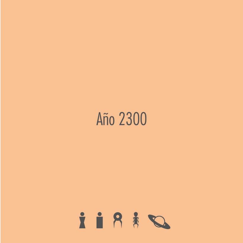 Diseño de pictogramas: año 2.300 0