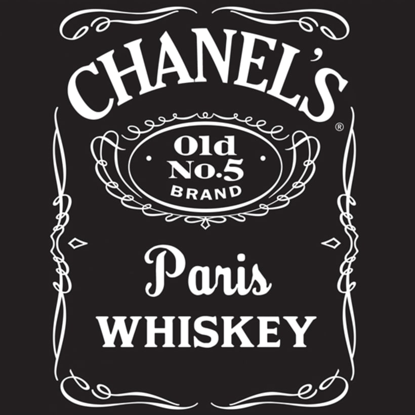 Branding Mashup - Chanel & Jack Daniel's 1