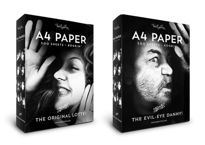 A4 Paper Packaging *Pentawards Platinum 3