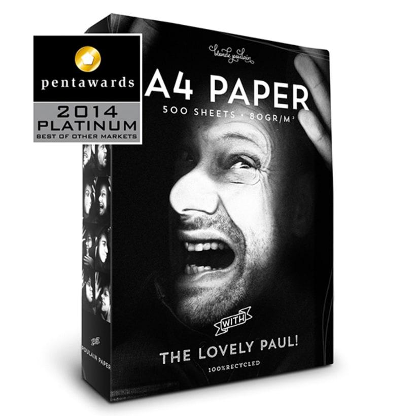A4 Paper Packaging *Pentawards Platinum 0