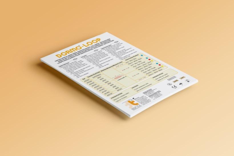 Diseño folletos Comercial 0