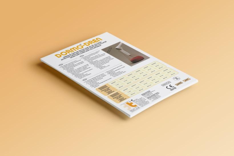 Diseño folletos Comercial 1