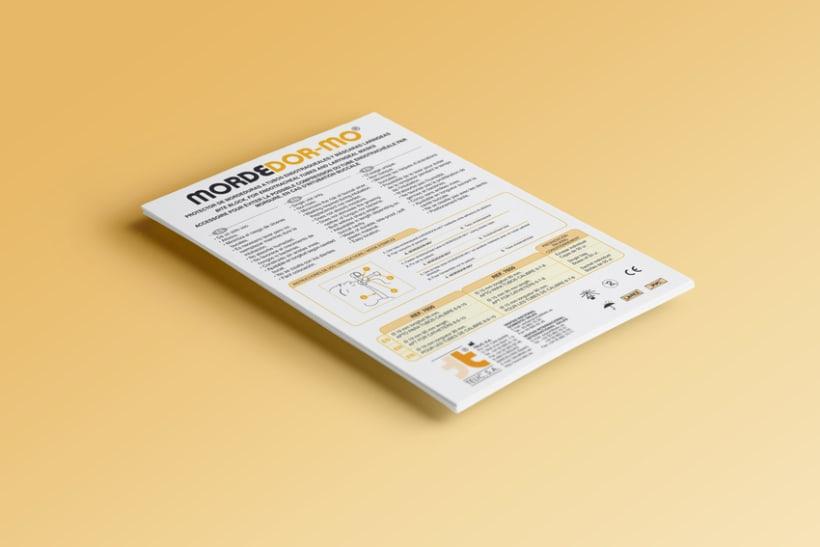 Diseño folletos Comercial 4