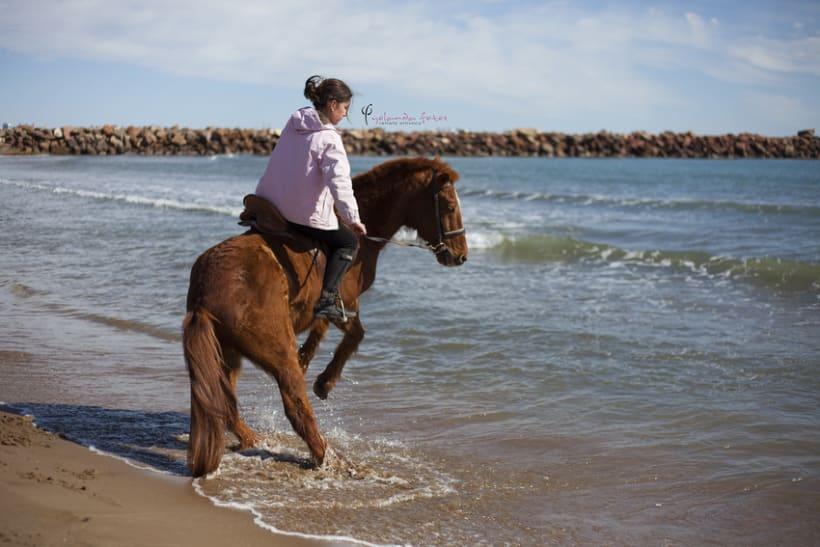 Reportaje - en caballo por la playa 3