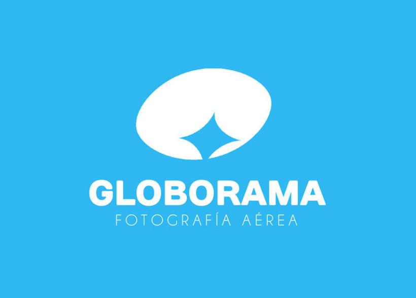 Globorama, fotografía aérea mediante zepelín teledirijido. -1