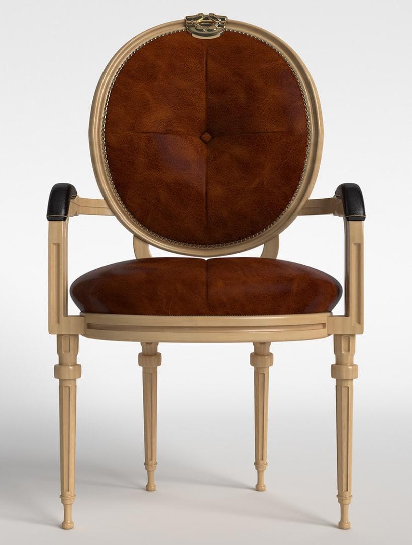 Modelado 3D mueble -1
