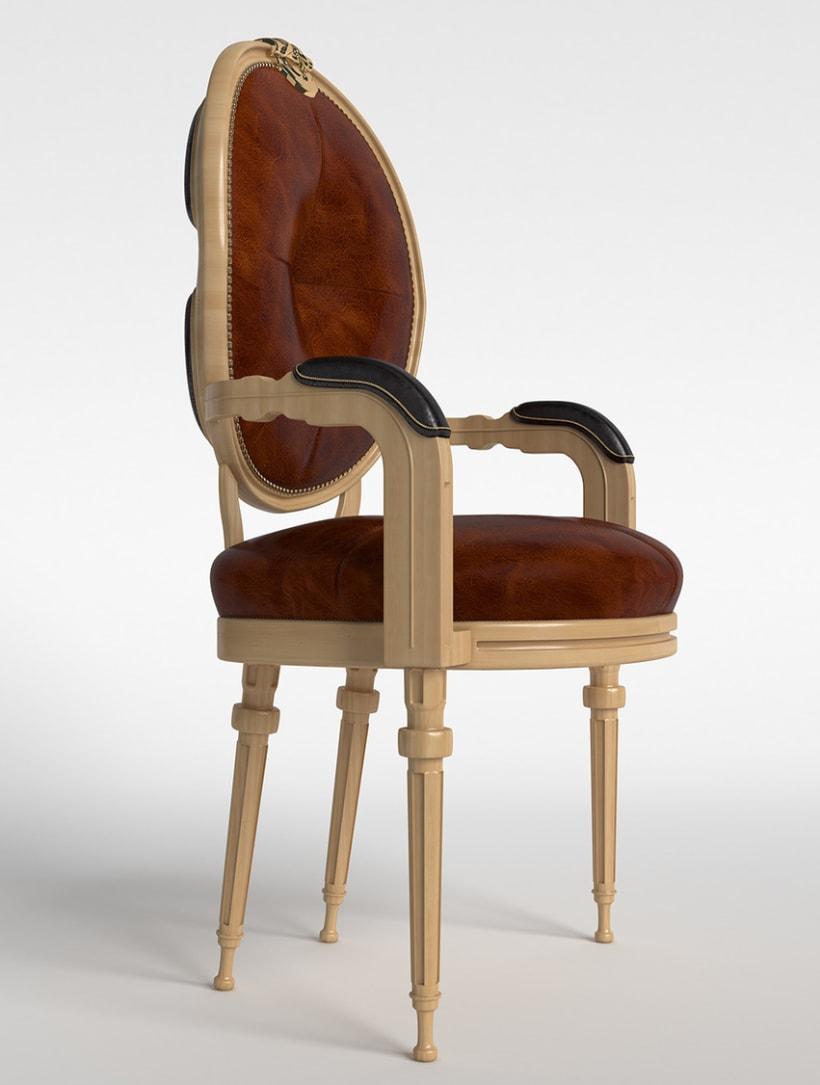 Modelado 3D mueble 0