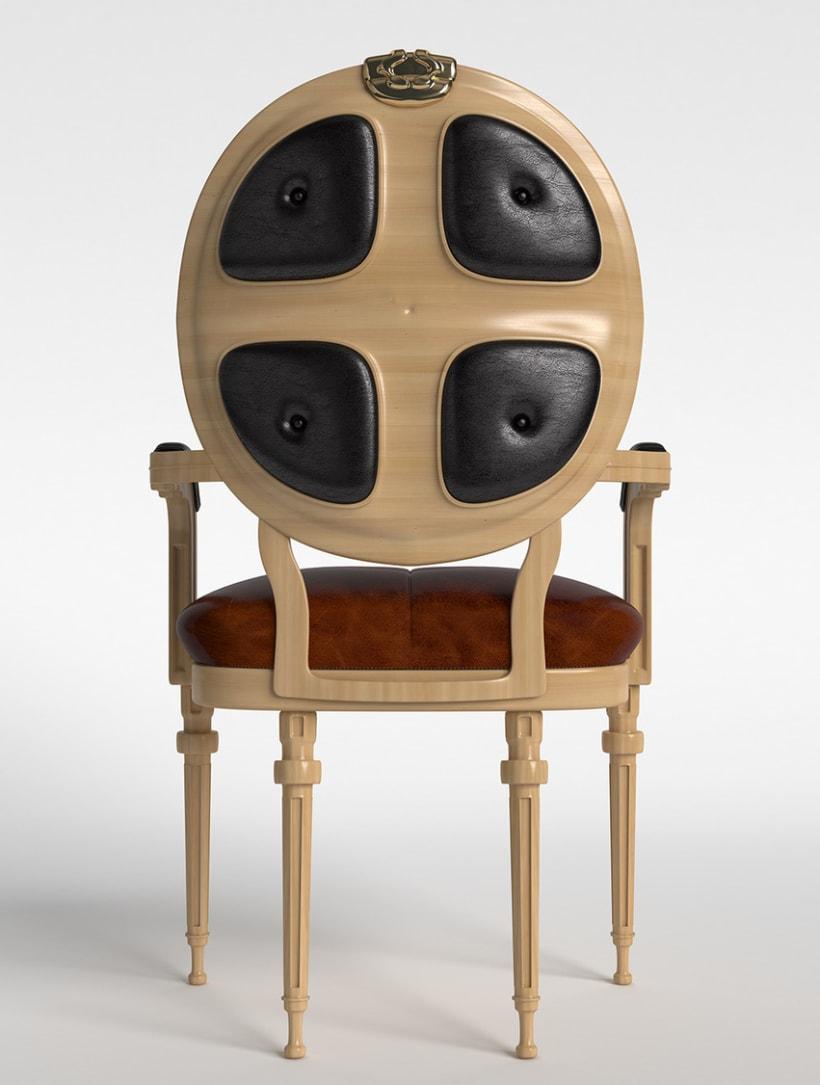 Modelado 3D mueble 1