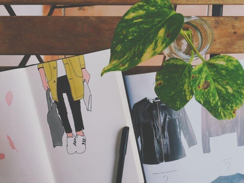 """El """"otro"""" sketchbook 9"""