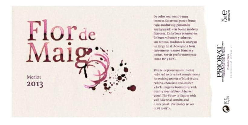 Etiqueta de vino 0