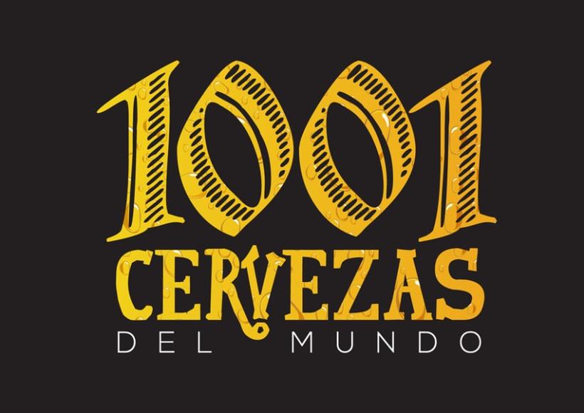 """Logotipo """"1001 Cervezas"""" 0"""