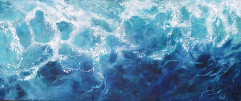 """colección de pintura a la encáustica """"océanos"""" 0"""