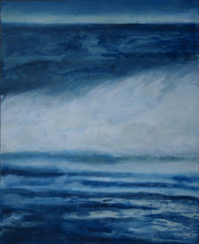 """colección de pintura a la encáustica """"océanos"""" 3"""