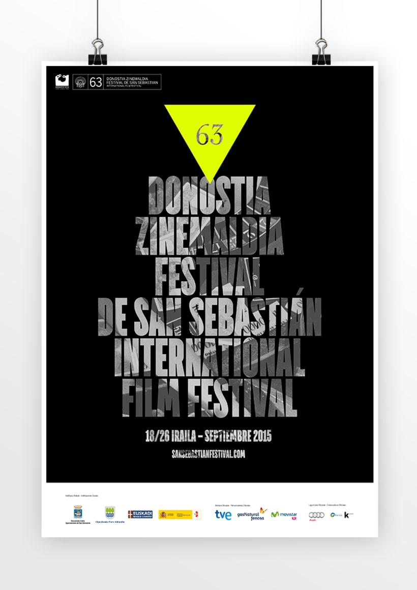 Carteles Festival de San Sebastián 2015 4