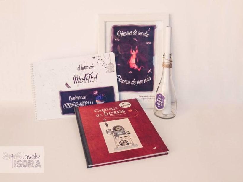 Lovely Isora. Ilustración, diseño y fotografía de producto 2