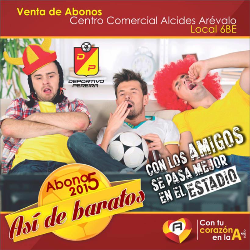 Campaña Deportivo Pereira  0