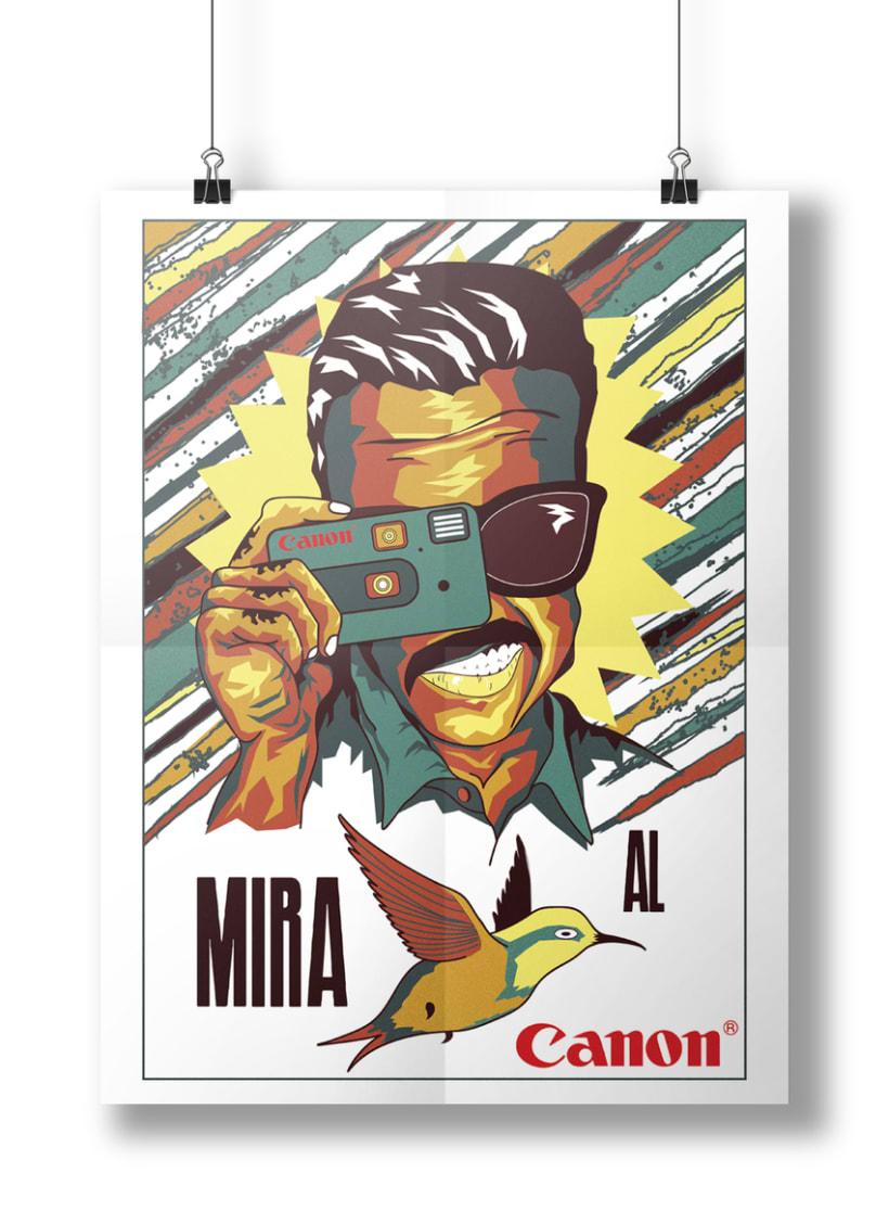 Cámara CANON-Mi Proyecto del curso Ilustra con garra y vencerás 3