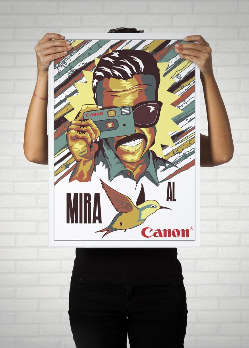 Cámara CANON-Mi Proyecto del curso Ilustra con garra y vencerás 4