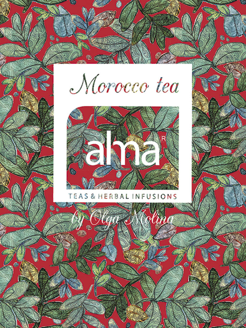 Morocco Tea by Olga Molina 3