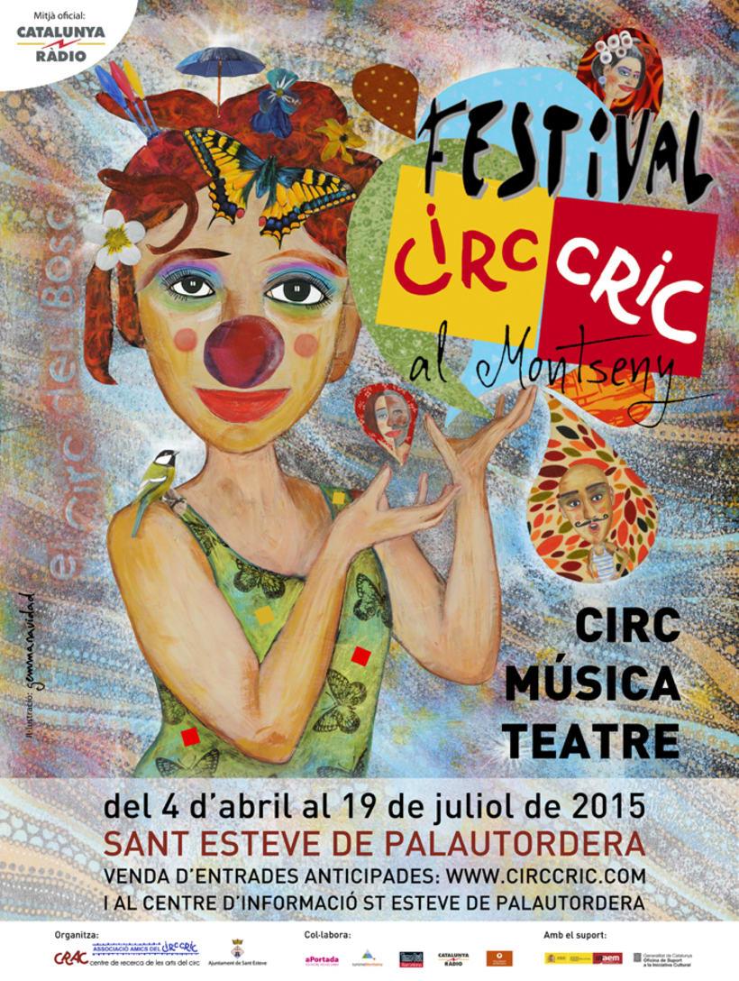 El Circo de los Inéditos y Cartel Circ Cric 0