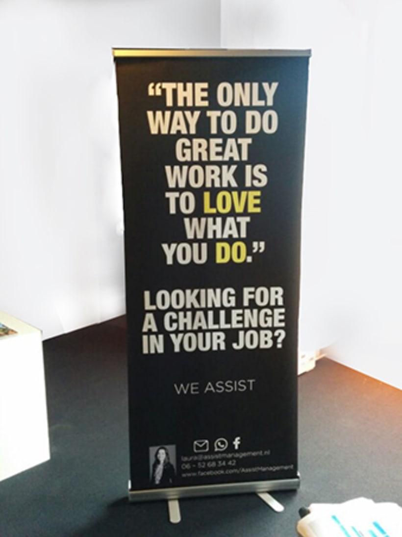Campaña publicitaria / Países Bajos  -Looking for a challenge?- 2