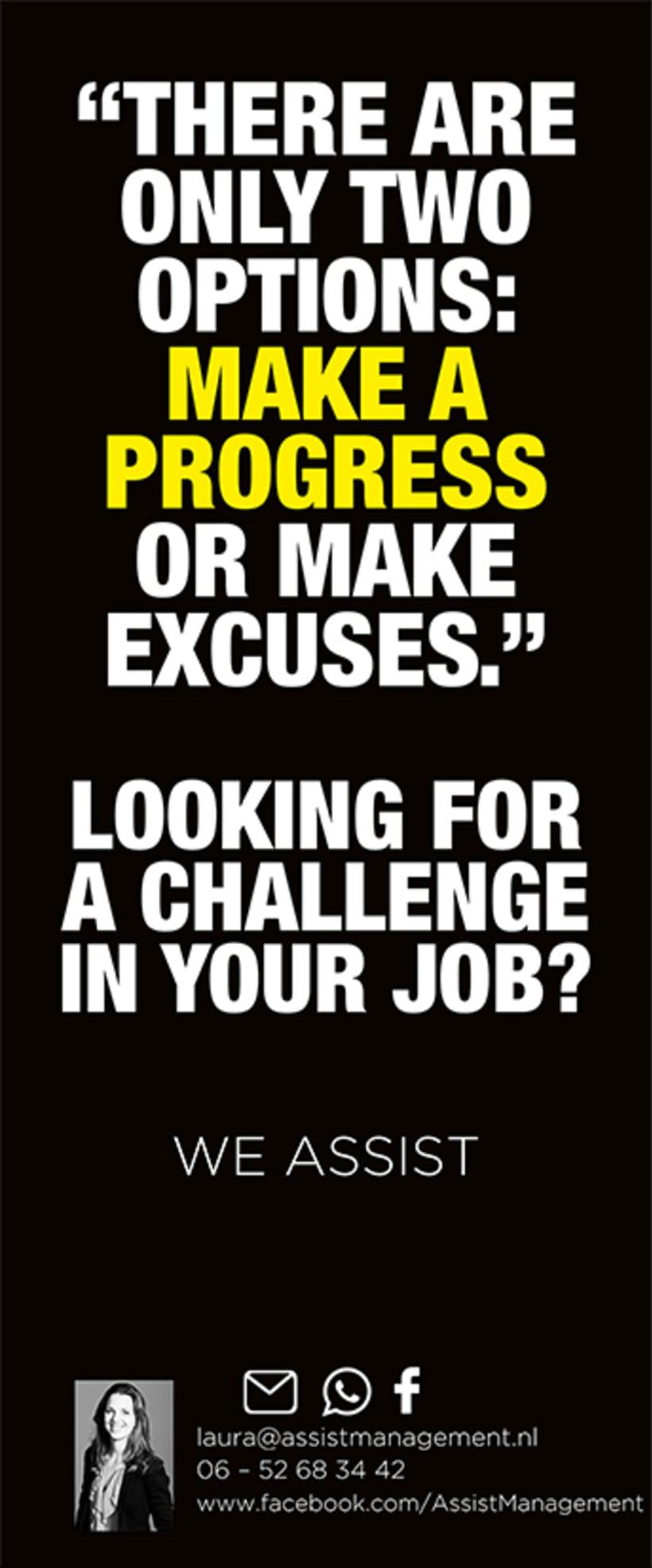 Campaña publicitaria / Países Bajos  -Looking for a challenge?- 3