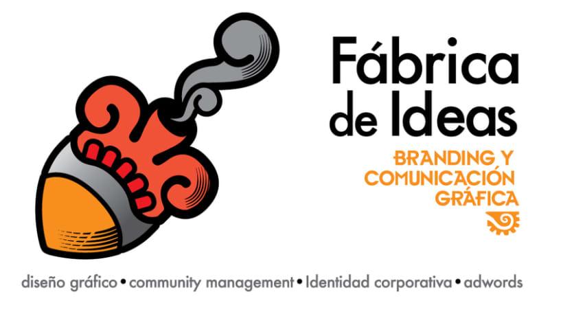 Identidad Fábrica de Ideas 0