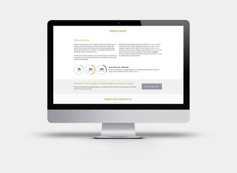 Apartado de proyectos en la web de Factorsim 2