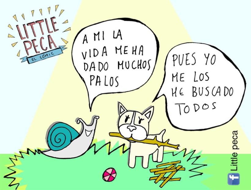 Little Peca el cómic 5