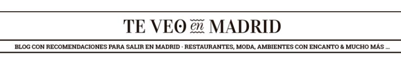 TE VEO EN MADRID  · Blog · 0