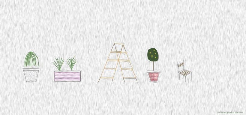 summer garden textures -1