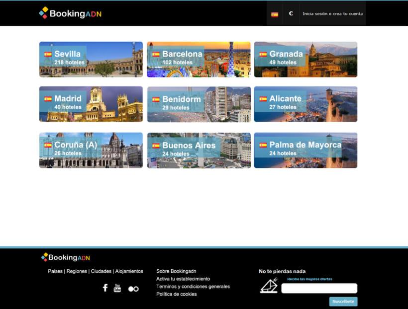 Diseño de interfaz - BookingADN 2